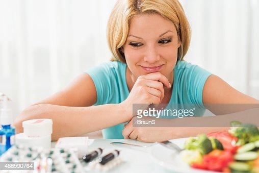 Should I use pills or eat salad?