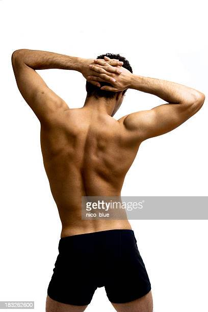 Shoulder and back stretch