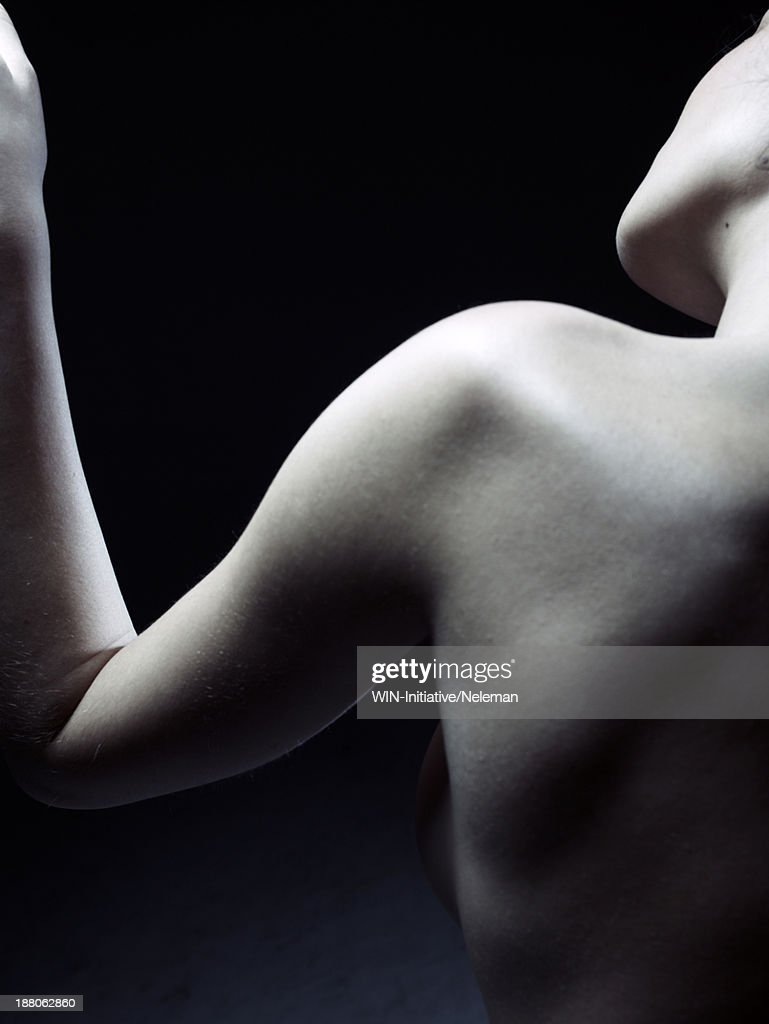Shoulder of a beautiful woman