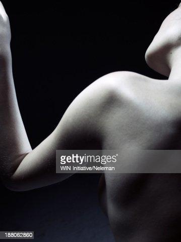 Shoulder of a beautiful woman