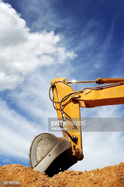 Schaufel des Bulldozer