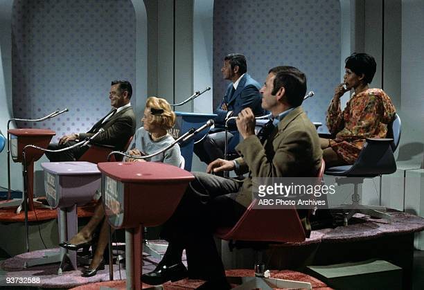 ASK Show Coverage 10/28/68 Glenn Ford Rose Marie Jan Murray Paul Lynde Chelsea Brown on the ABC Television Network game show 'Funny You Should Ask'