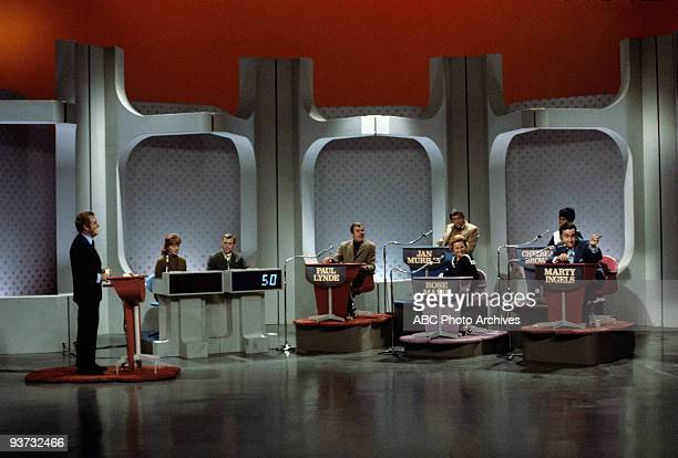 ASK Show Coverage 10/28/68 Host Lloyd Thaxton Contestants Paul Lynde Jan Murray Rose Marie Chelsea Brown Marty Ingels on the ABC Television Network...