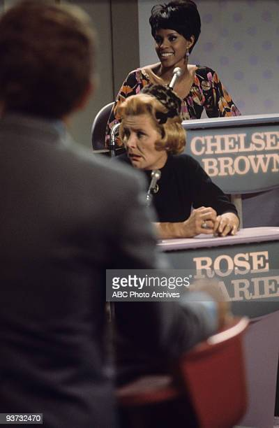 ASK Show Coverage 10/28/68 Host Lloyd Thaxton Rose Marie Chelsea Brown on the ABC Television Network game show 'Funny You Should Ask'