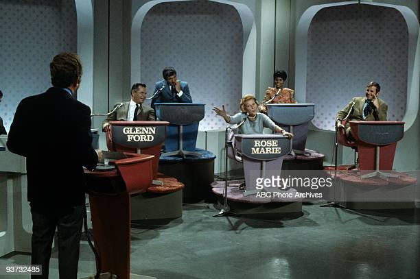 ASK Show Coverage 11/27/68 Host Lloyd Thaxton Glenn Ford Richard Dawson Rose Marie Chelsea Brown and Paul Lynde on the ABC Television Network game...