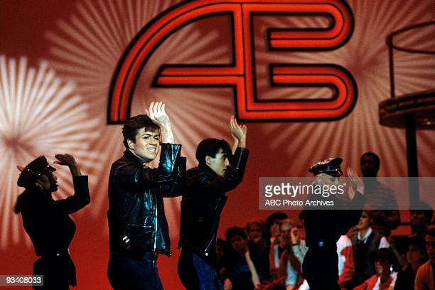 BANDSTAND Show Coverage 2/10/83 Wham on the ABC Television Network dance show 'American Bandstand'