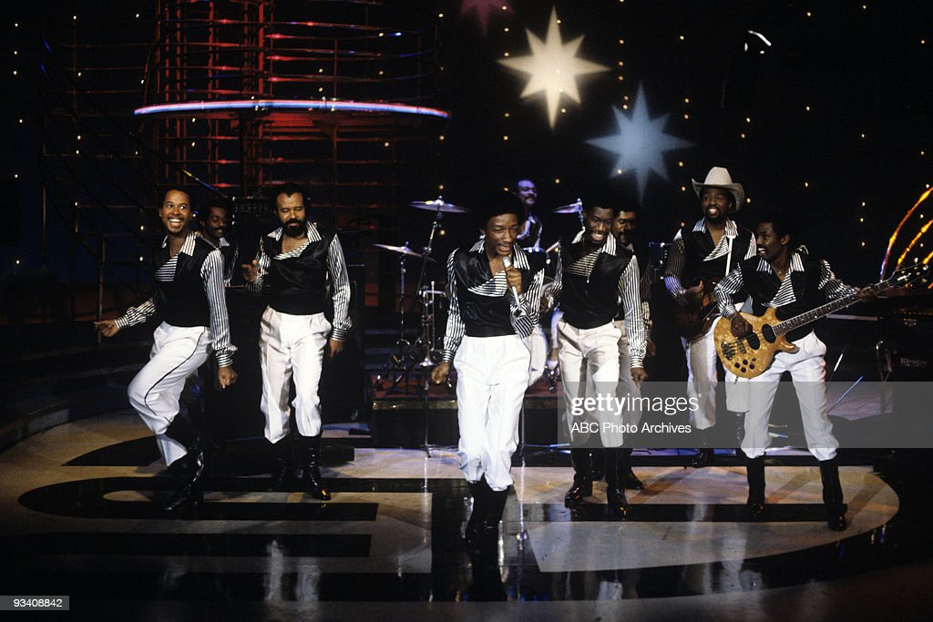 BANDSTAND - Show Coverage - 2/3/82, Kool and the Gang on the ABC Television Network dance show 'American Bandstand'.,