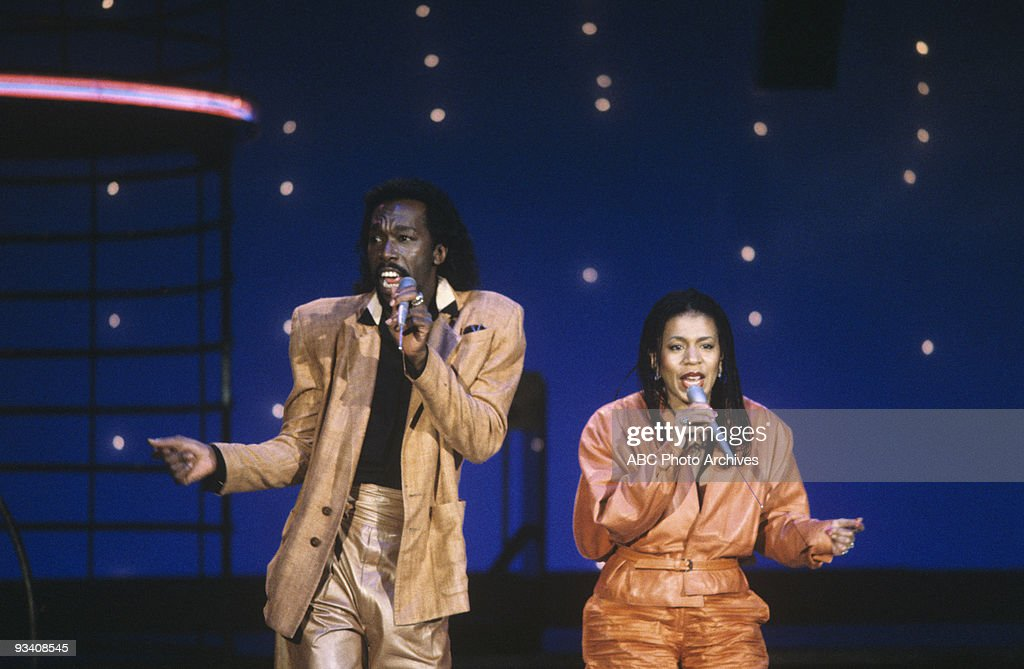 BANDSTAND - Show Coverage - 6/1/82, Ashford and Simpson on the ABC Television Network dance show 'American Bandstand'.,