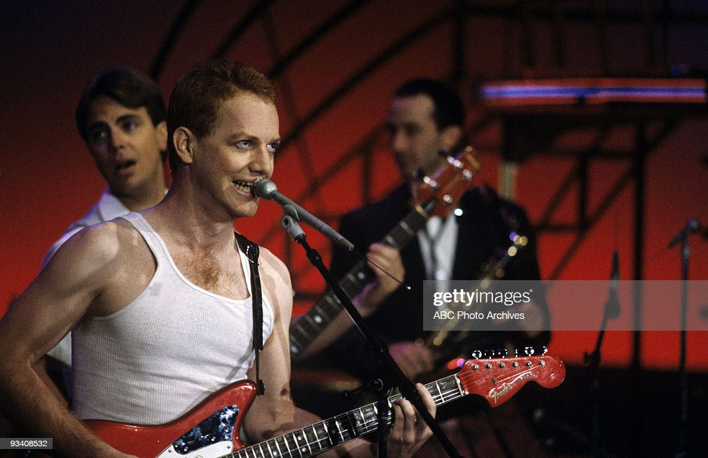 BANDSTAND - Show Coverage - 6/1/82, Oingo Boingo on the ABC Television Network dance show 'American Bandstand'.,