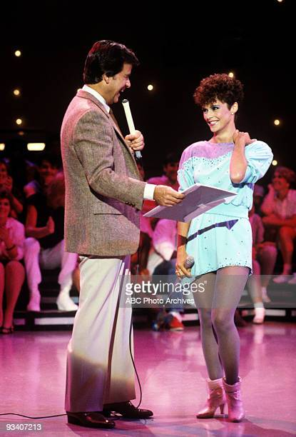 BANDSTAND Show Coverage 7/21/83 Dick Clark Sheena Easton on the ABC Television Network dance show 'American Bandstand'