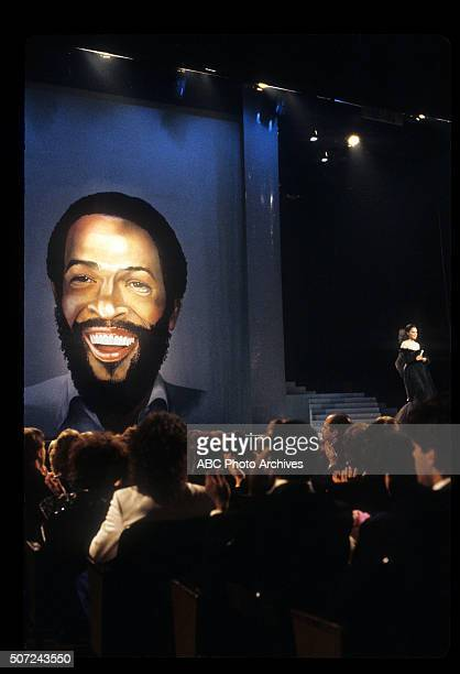 January 28 1985 DIANA ROSS DURING MARVIN GAYE TRIBUTE