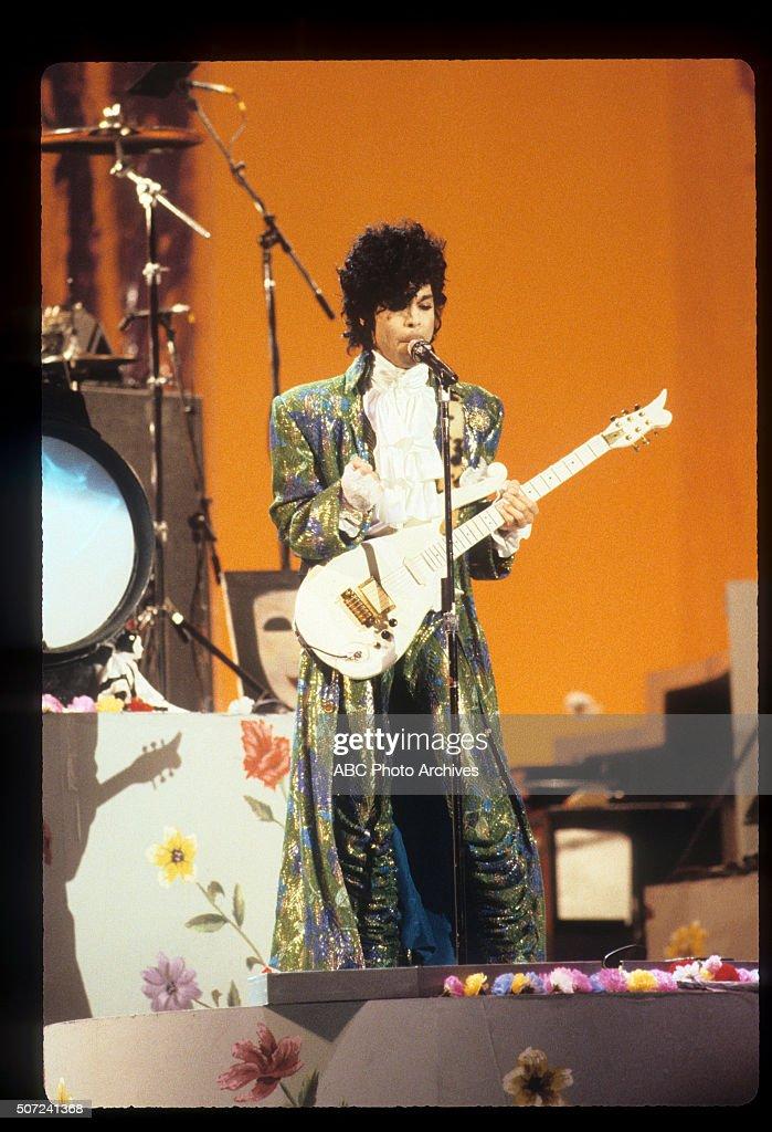 January 28, 1985. PRINCE