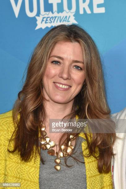 Show Creator Annabel Jones attends the Black Mirror panel during the 2017 Vulture Festival at Milk Studios on May 21 2017 in New York City