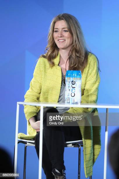 Show Creator Annabel Jones speaks onstage at the Black Mirror panel during the 2017 Vulture Festival at Milk Studios on May 21 2017 in New York City