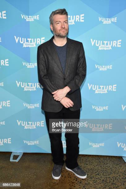Show Creator Charlie Booker attends the Black Mirror panel during the 2017 Vulture Festival at Milk Studios on May 21 2017 in New York City