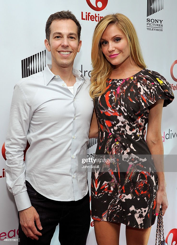 Show creator Josh Berman and Actress Virginia Williams attend the 'Drop Dead Diva' final season premiere party on March 23, 2014 in West Hollywood, California.