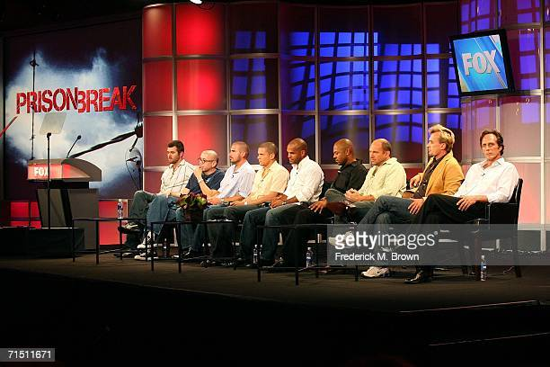 Show creator Paul Scheuring Executive Producer Matt Olmstead actor Dominic Purcell actor Wentworth Miller actor Amaury Nolasco actor Rockmond Dunbar...