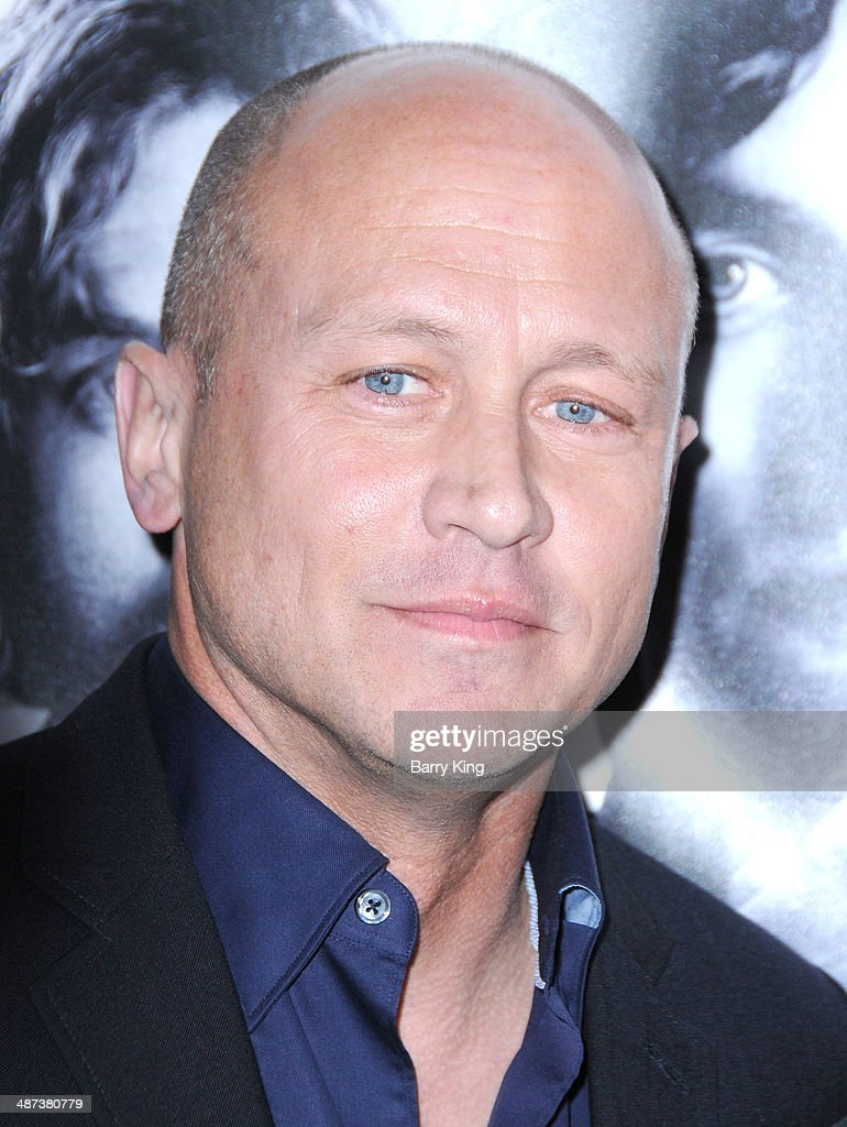 Show creator/executive producer Mike Judge arrives at the premiere of 'Silicon Valley' on April 3, 2014 at Paramount Studios in Hollywood, California.