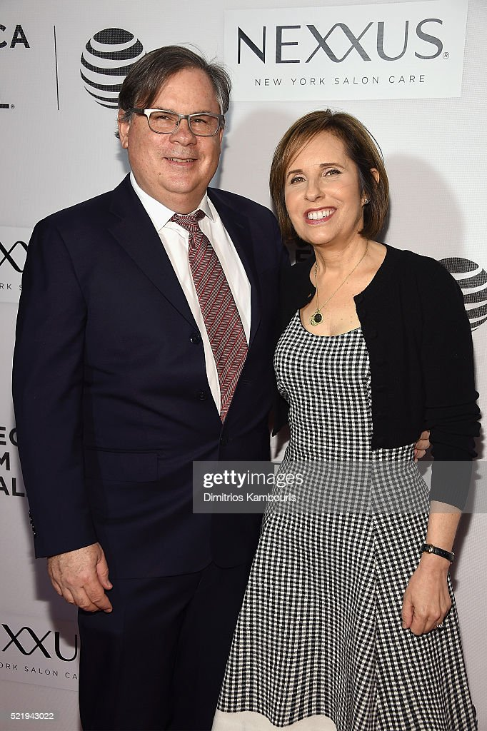 Show creators Robert King and Michelle King attend 'The Good Wife' Screening during the 2016 Tribeca Film Festival at John Zuccotti Theater at BMCC...