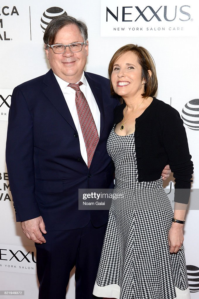 Show creators Robert King and Michelle King attend the Tribeca Tune In The Good Wife at BMCC John Zuccotti Theater on April 17 2016 in New York City