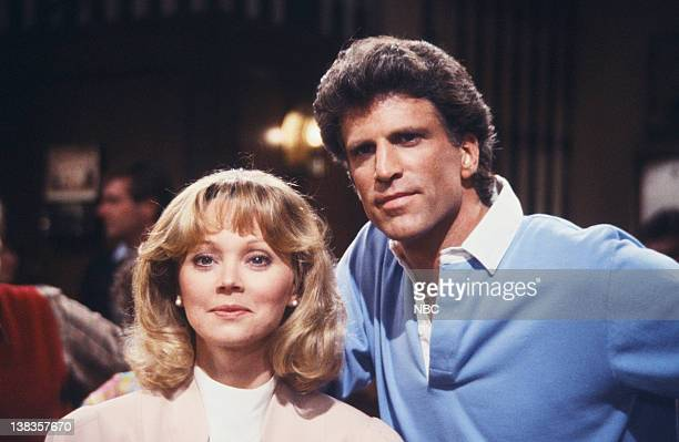 CHEERS 'Show Down Part 2' Episode 22 Air Date Pictured Shelley Long as Diane Chambers Ted Danson as Sam Malone