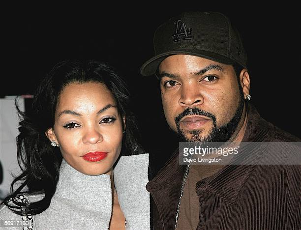 Show executive producer actor Ice Cube and his wife Kim Jackson attend the premiere screening of FX Networks' new documentary series 'BlackWhite' at...
