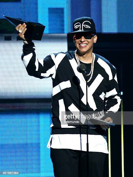 Daddy Yankee on stage during the 2015 Latin American Music Awards at The Dolby Theater in Hollywood CA on October 8 2015 LATIN AMERICAN MUSIC AWARDS...