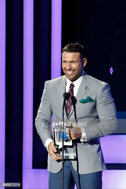 MUNDO 2016 'Show' Pictured Rafael Amaya on stage during the 2016 Premios Tu Mundo at the American Airlines Arena in Miami Florida on August 25 2016