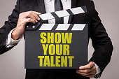 Show Your Talent sign