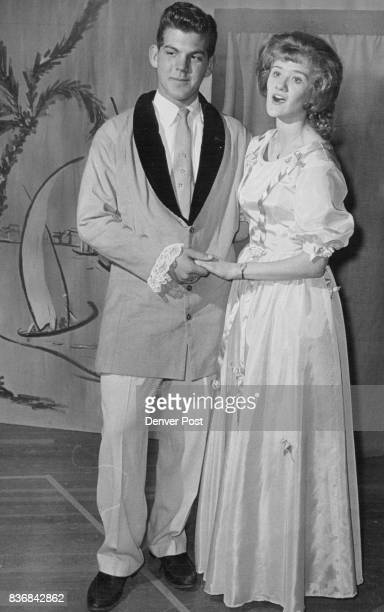 FEB 25 1963 FEB 27 1963 'Showboat' Lead Players Playing lead roles in Jefferson High School's upcoming musical performance of 'Showboat' are Gordon...