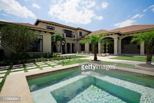 Showcase home and pool