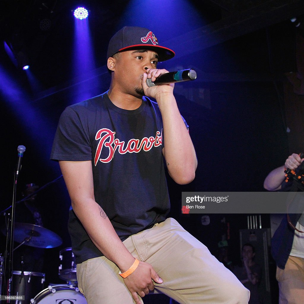 Showcase winner Skipper Jones performs during BMI's 15th annual Unsigned Urban showcase at Terminal West on April 11, 2013 in Atlanta, Georgia. Skipper Jones won the Unsigned Urban Showcase competition.