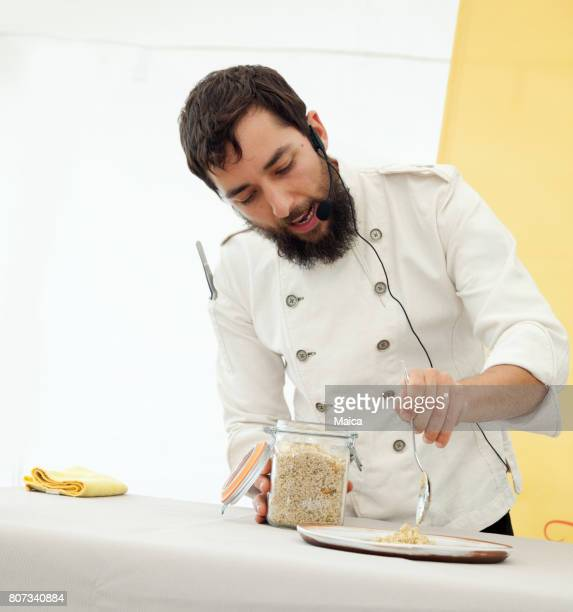 Showcooking chef
