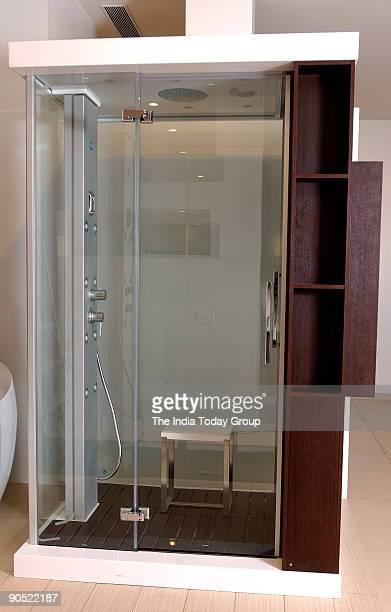 Shower Cabin Bathroom at Villeroy and Boch in Mumbai Maharashtra India