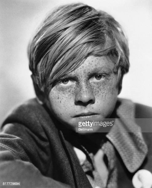 Shown here is actor Mickey Rooney in a scene from the FOX film production The County Chairman