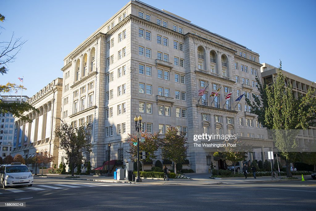 Shown is the exterior of the Hay Adams Hotel on November 13, 2013 in Washington, D.C. A Secret Service supervisor has been removed from his position after allegedly trying to force his way into a woman's room at the Hay Adams last spring. The agent was trying to retrieve a bullet he left in the room from his service weapon after the encounter in her hotel room.