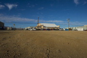 MOJAVE CA OCTOBER Shown is the exterior of Xcor Aerospace at Mojave Air and Space Port on October 23 2013 in Mojave Ca