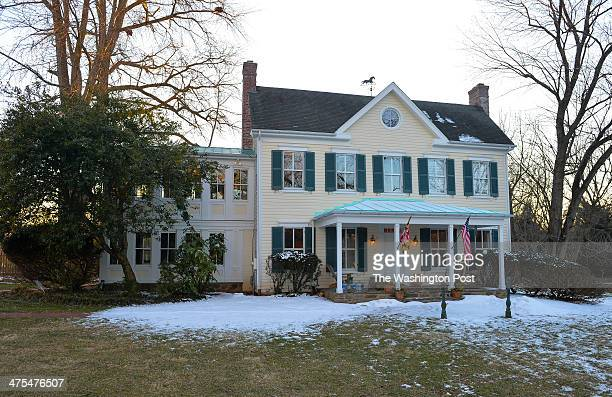 Shown is the home of Bill and Diana Conway which was used for several scenes in the Oscar nominated movie 'Philomena' on February 26 2014 in Potomac...