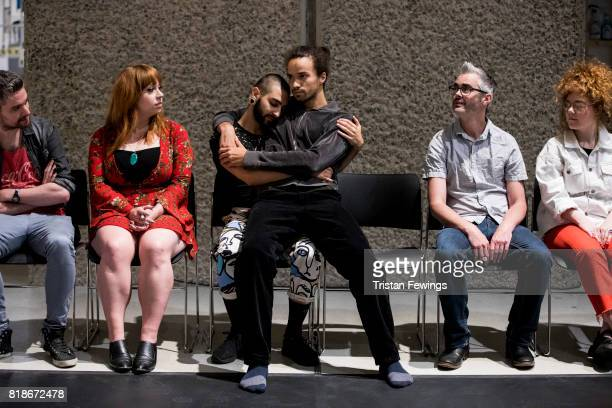 Showpony is performed at Trajal Harrell Hoochie Koochie A performance exhibition at Barbican Art Gallery on July 18 2017 in London England The...