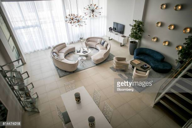 A showroom apartment is seen inside the Bahia Plaza residence complex at the Paseo Caribe luxury development in San Juan Puerto Rico on Wednesday...