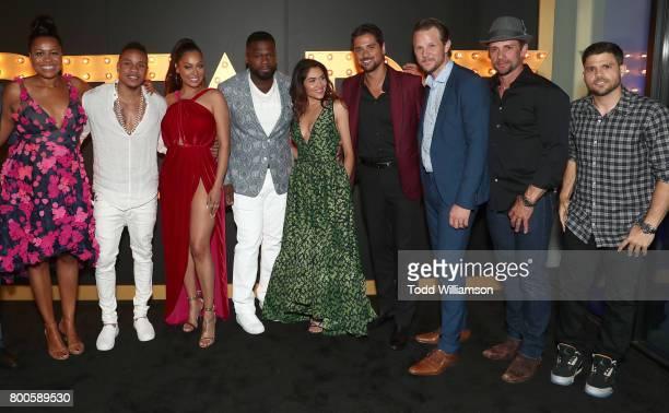 Showrunner Courtney Kemp actor Rotimi Akinosho actress La La Anthony Curtis '50 Cent' Jackson actress Lela Loren actors JR Ramirez Shane Johnson...