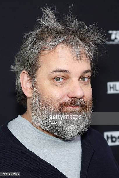 Showrunner Dan Harmon attends the Turner Upfront 2016 arrivals at The Theater at Madison Square Garden on May 18 2016 in New York City