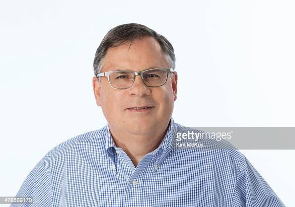 Showrunner for CBS's 'The Good Wife' Robert King is photographed for Los Angeles Times on April 23 2015 in Los Angeles California PUBLISHED IMAGE...