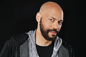 Showrunner John Ridley is photographed for Los Angeles Times on April 23 2015 in Los Angeles California PUBLISHED IMAGE CREDIT MUST BE Kirk McKoy/Los...