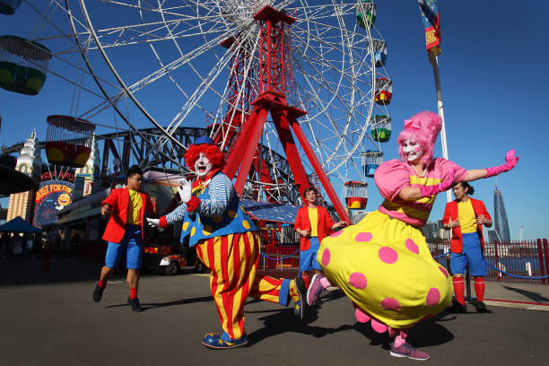 AUS: Luna Park Reopens As NSW COVID-19 Restrictions Continue To Ease