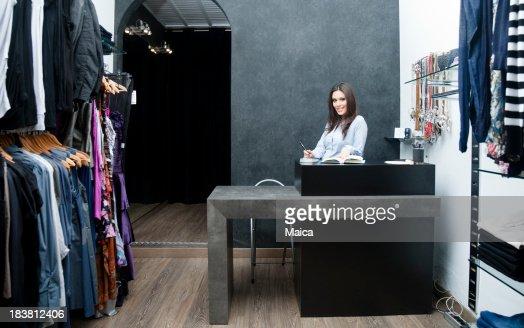 Shp Eigentümer in ihren boutique