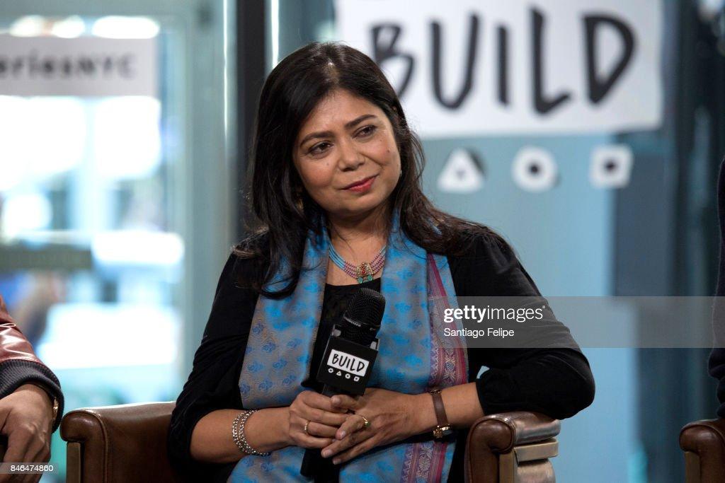 Shrabani Basu attends Build Presents to discuss the film 'Victoria & Abdul' at Build Studio on September 13, 2017 in New York City.