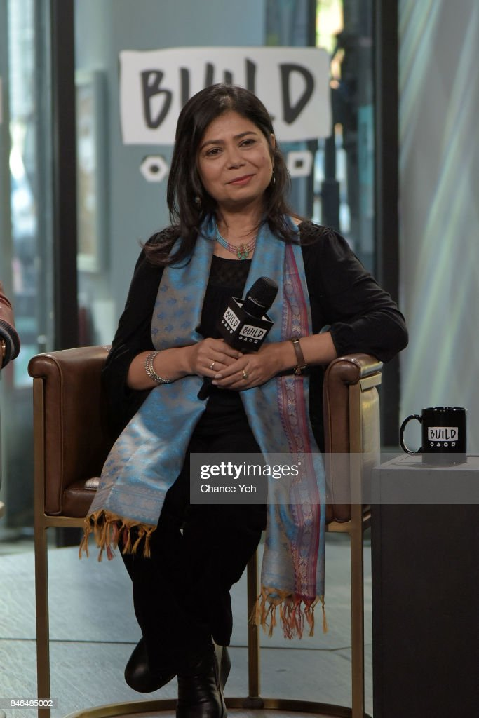 Shrabani Basu attends Build series to discuss 'Victoria & Abdul' at Build Studio on September 13, 2017 in New York City.