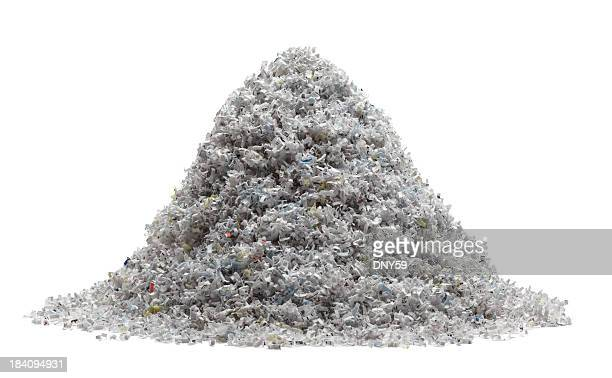 Shredded Paper Pile