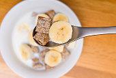 Shredded Wheat and Banana